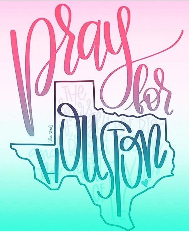 Our hearts are with those affected by this tragedy over the weekend💕💜#prayforhouston