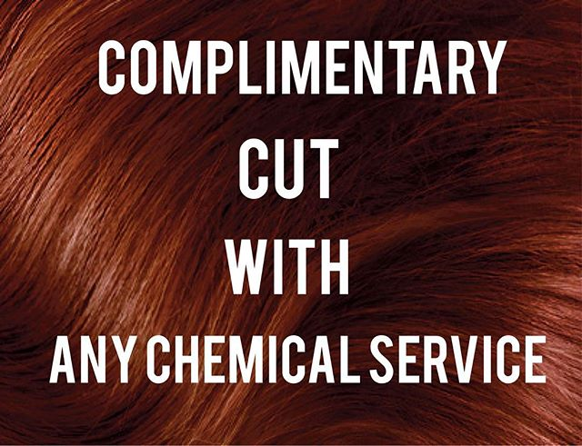 Mention this insta-promo and receive a complimentary cut with any chemical service for services booked 9/14/17-9/15/17!! *offer only applies with select stylist*✂️✂️✂️ Appointments: 407-237-3213  #trendstudios #trendstudioswp  #trendstudiosdt #trendstudioswinterpark #trendstudiosorland