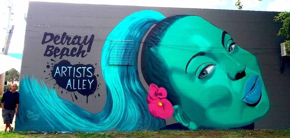 Artists Alley Mural | Delray Beach USA, 2014