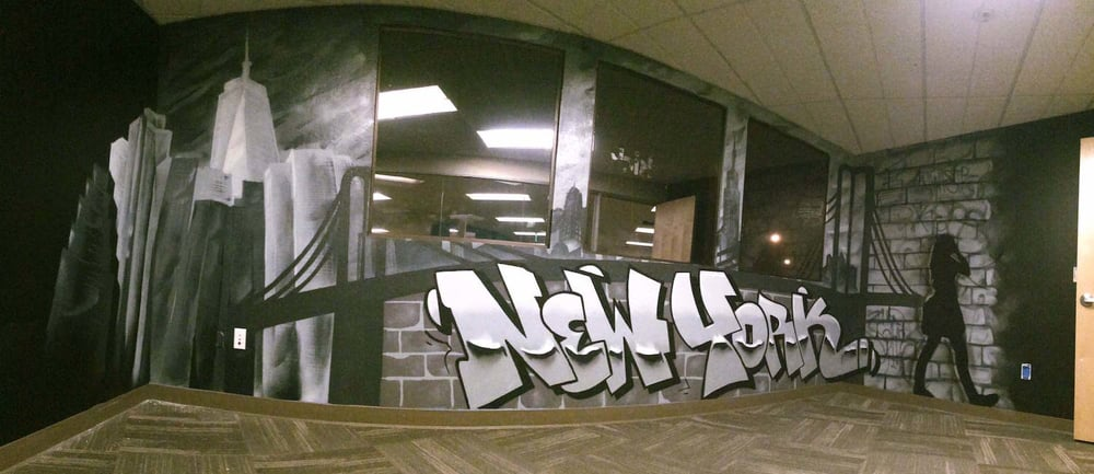 Commissioned Office Mural 3 for Betterworks | Redwood City USA, 2015