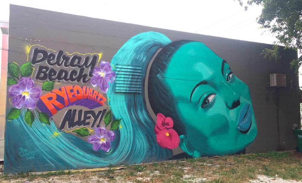 Artists Alley Mural 2 | Delray Beach USA, 2014