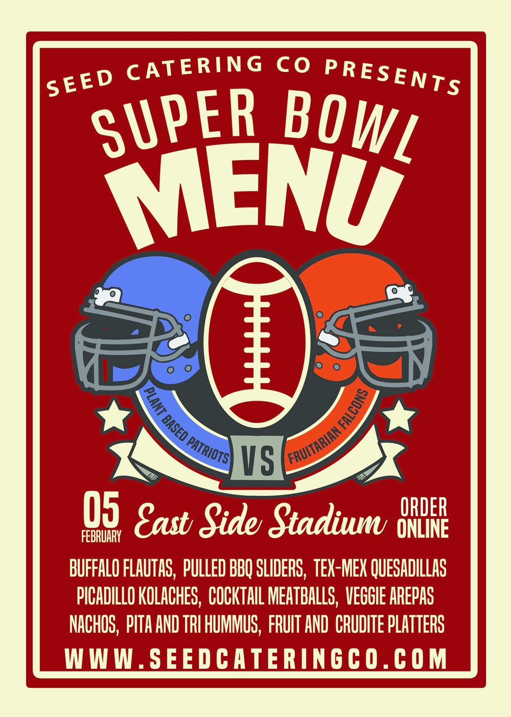 Super Bowl - Seed Catering Co.