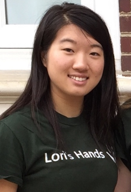 Our president, Judy Yang,is from Rehoboth Beach, DE. Judy is double majoring in Accounting and Management Information Systems. Judy says that she loves being part of Lori's Hands and spending time with our clients, and that she is honored to be chosen to serve on the exec board for this year!