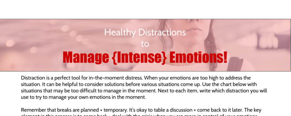 Is your teen struggling to manage their emotions in difficult situations? Use this worksheet to help them brainstorm solutions ahead of time + prevent messy communication! Click the image to grab your worksheet!