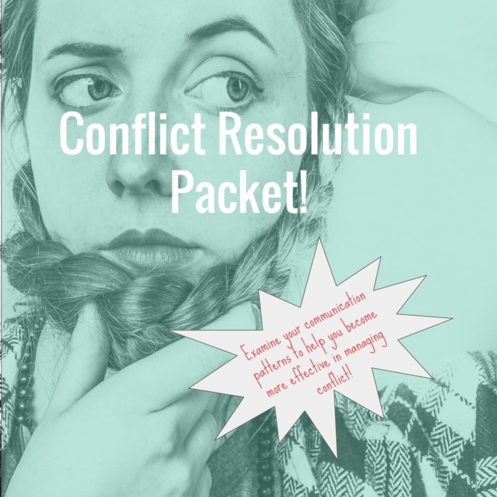 Finding yourself in the same cycle after every argument? Struggling to handle conflict effectively? Eliminate destructive communication patterns with this conflict resolution packet!