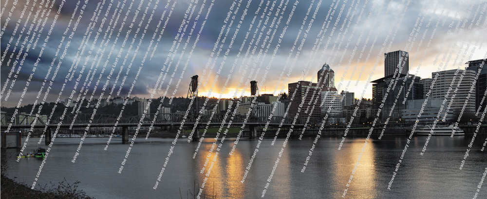 Raining Words on Portland