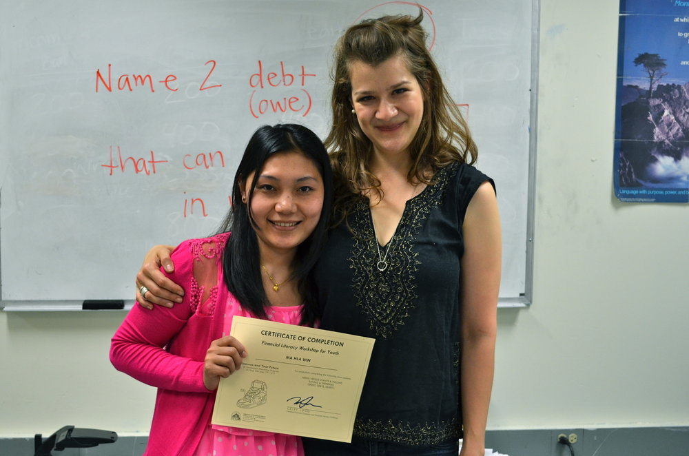 Caley with GAP student 2.JPG