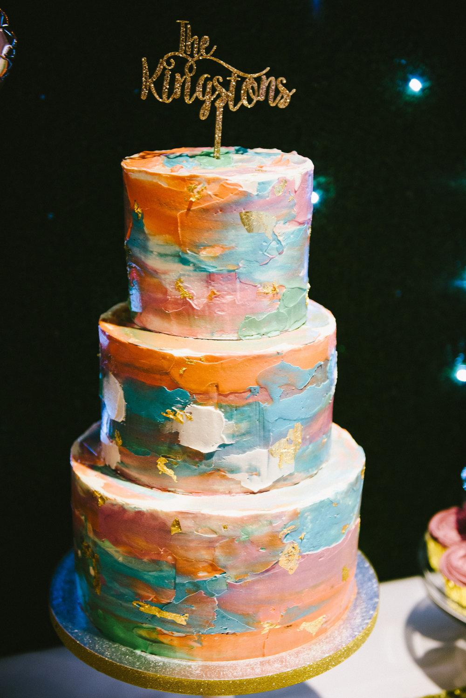 jenny and dominic wedding cake