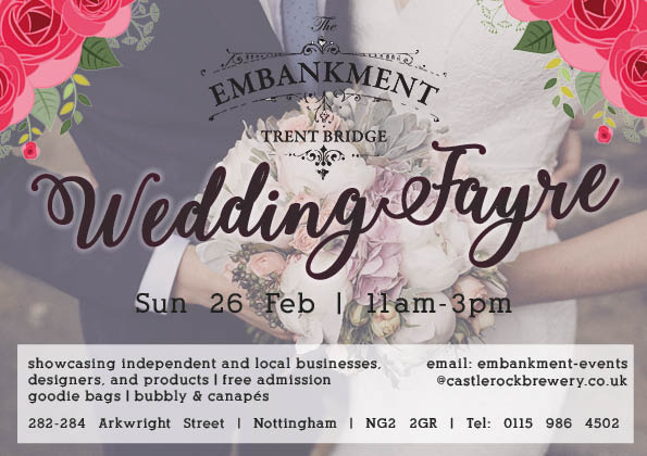 The Embankment Wedding Fayre Nottingham