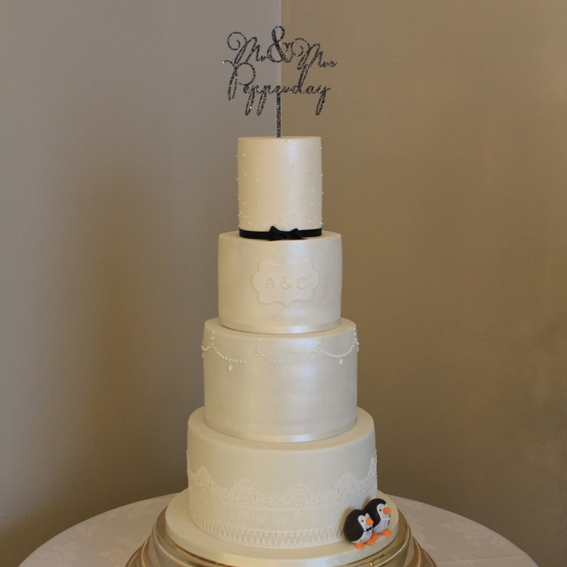 The Sweet Stuff, Winter Wedding Cake, Doveclife Hall