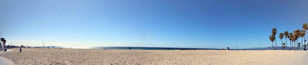 Venice Beach view
