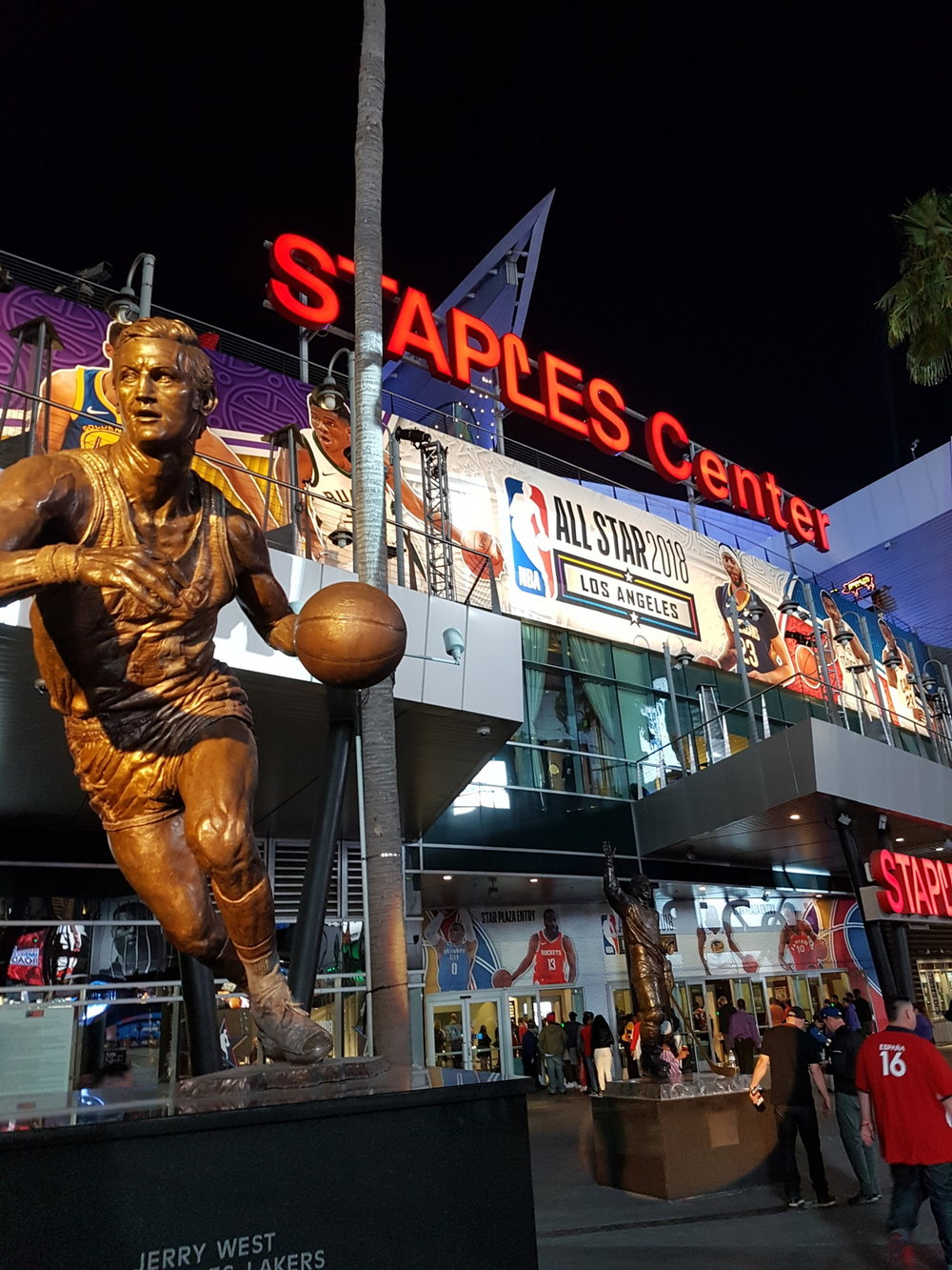 All Star Weekend at Staples Center