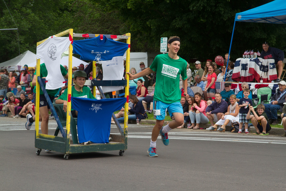 July 4th Bristol Outhouse races have been an annual tradition for the past 35 years.
