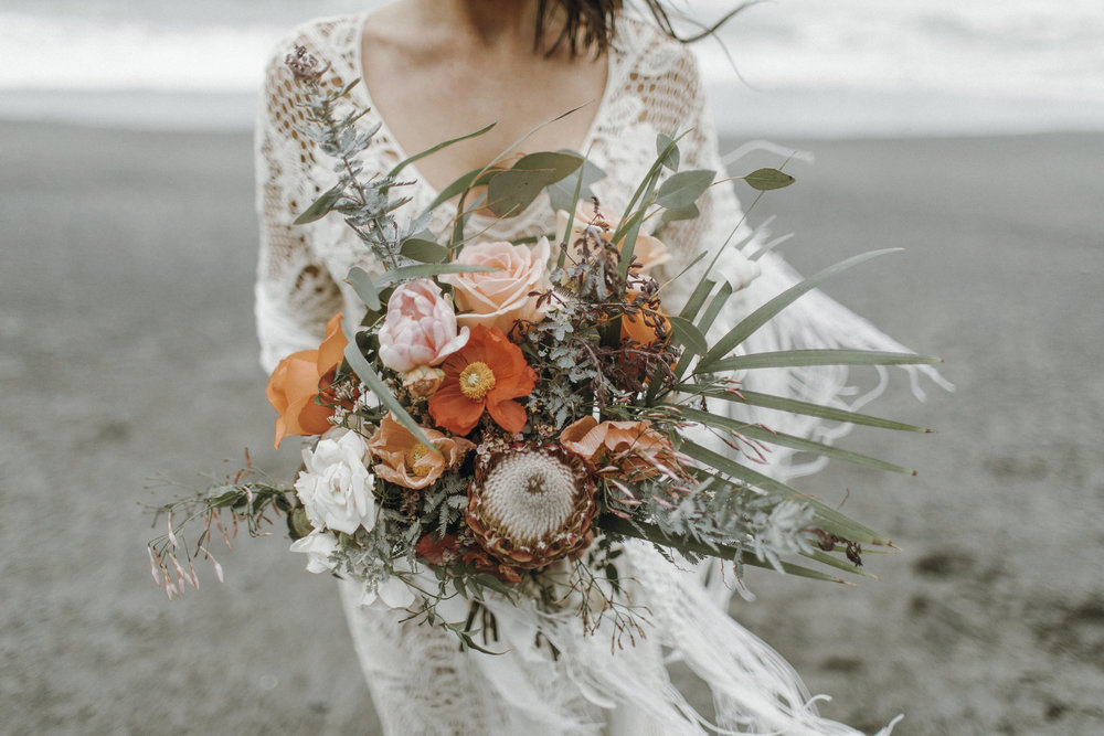 Ruby Beach Elopement - Photography & styling by Bonita Gabrielle