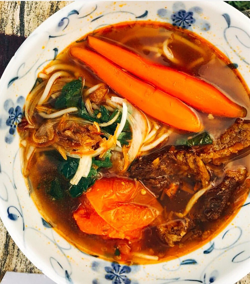 Bo Kho is this week's Mama Le noodle special at farmers market.