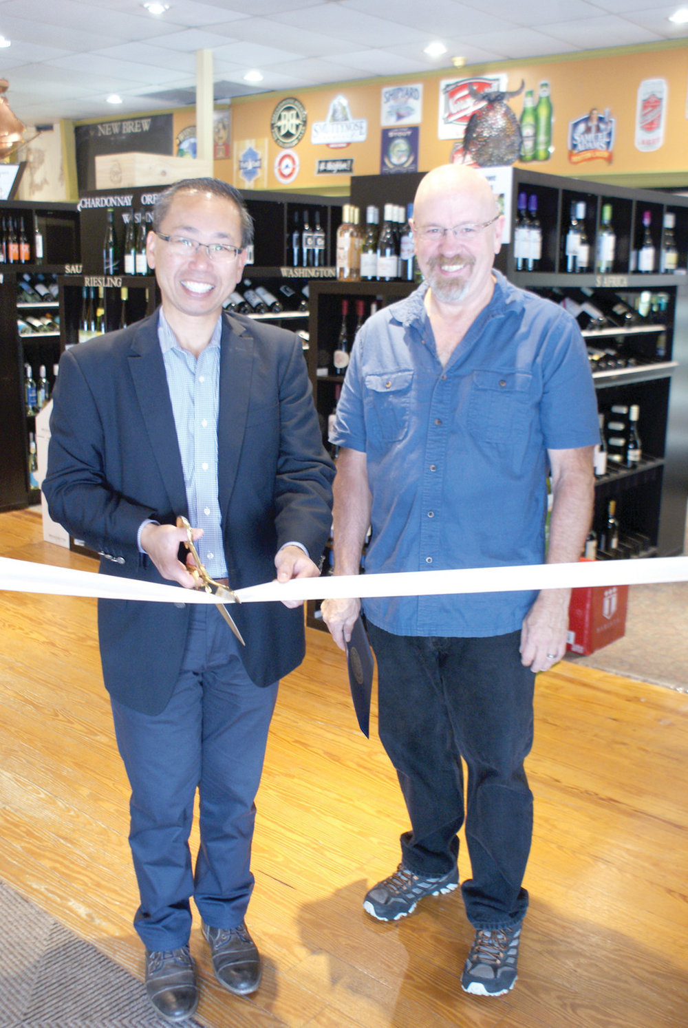 - Congratulations to the new owner of the store Al Sinclair. Since the ownership change in April 2018 the store has never looked better. A ribbon cutting ceremony was held at Cork & Brew & Spirits Too on July 27. Mayor Allan Fung welcomed the new owner to Cranston. Sinclair has kept many of the traditions from the former owners such as wine tastings and craft beer tasting but has worked hard to provide the best experience to old and new customers of the store by bringing in the best products at the best pricing.