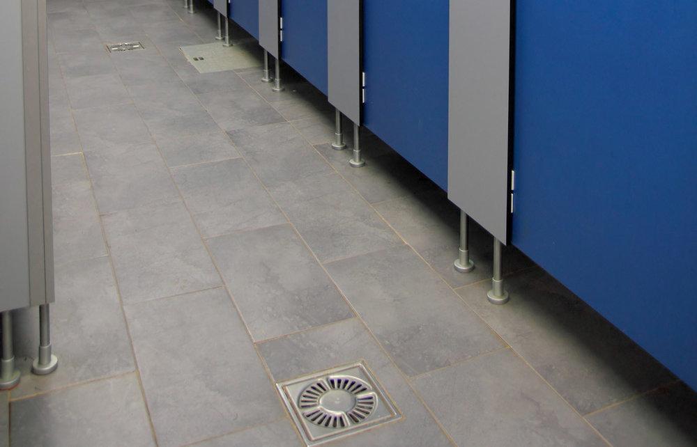floor drain odor