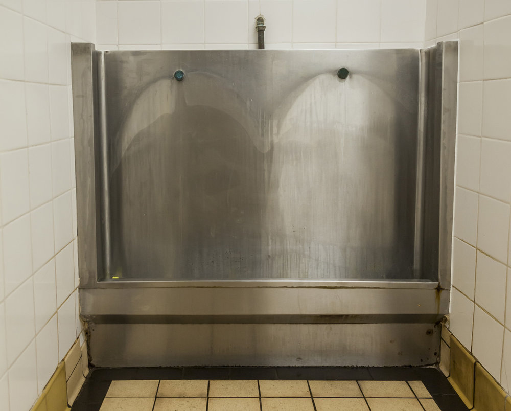 trough urinal