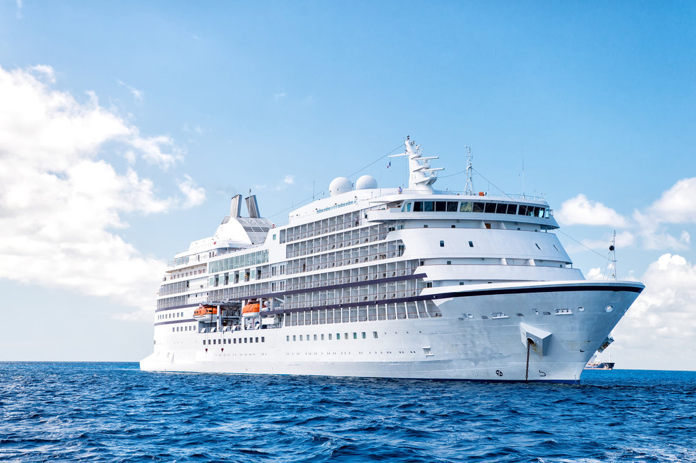 waterless cruise ship