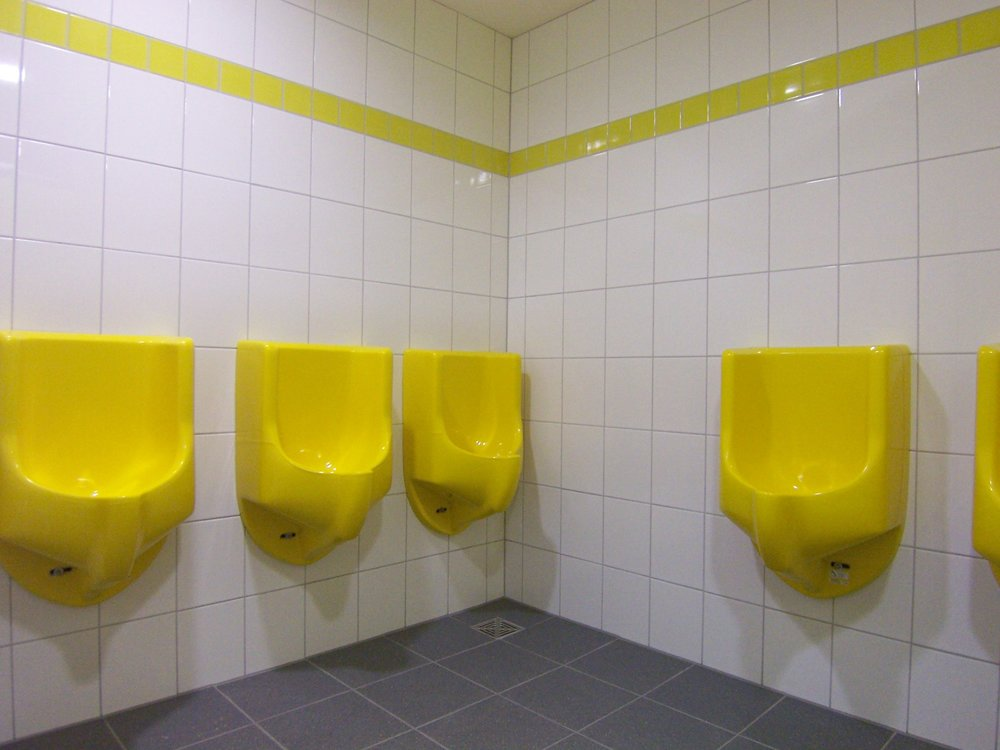 waterless urinal, water saving urinal
