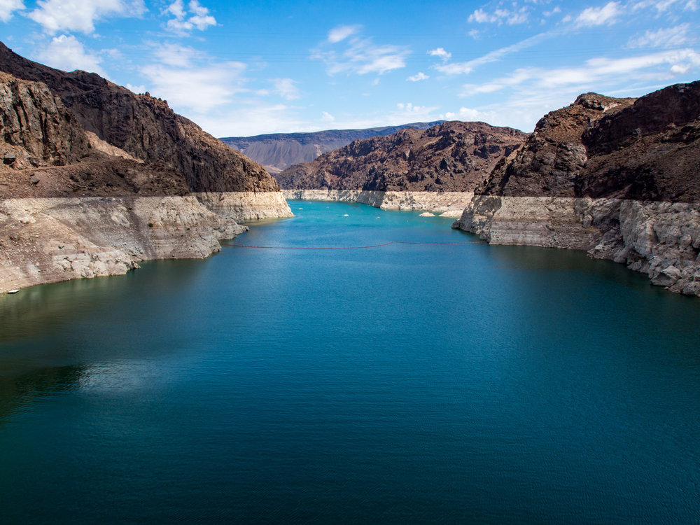 Lake Mead, waterless