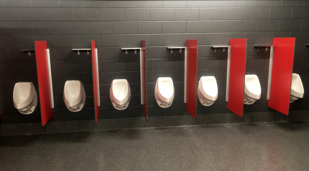 NFL waterless urinals, waterless urinals in stadium