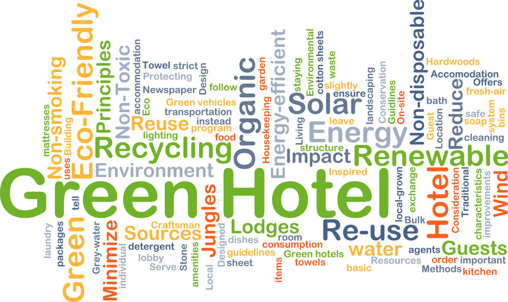 green hotel, water efficiency