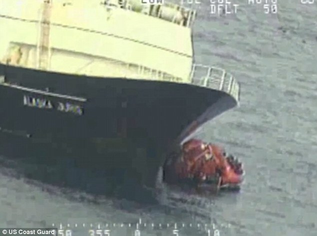 The crew of the 220-foot Alaska Juris donned survival suits and got into three rafts after the fishing vessel started taking on water Tuesday morning about 690 miles west of Dutch Harbor, one of the nation's busiest fishing ports.