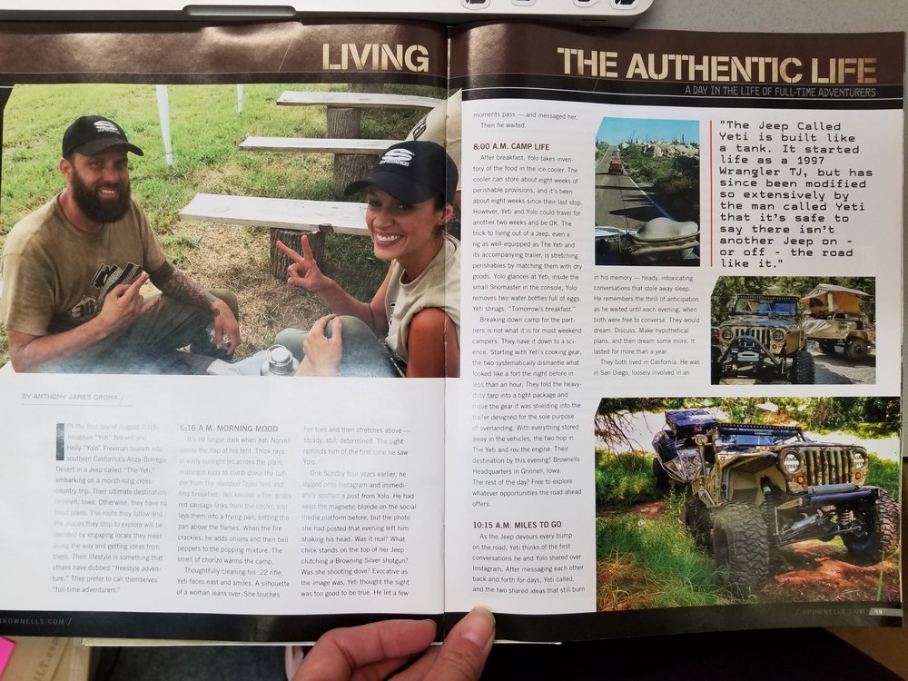 Brownells Gunnery/Recoil Magazine 6 Page Featured Article No.5