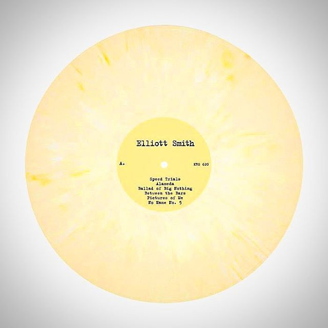 ELLIOTT SMITH'S EITHER/OR ON LIMITED EDITION YELLOW #VINYL.