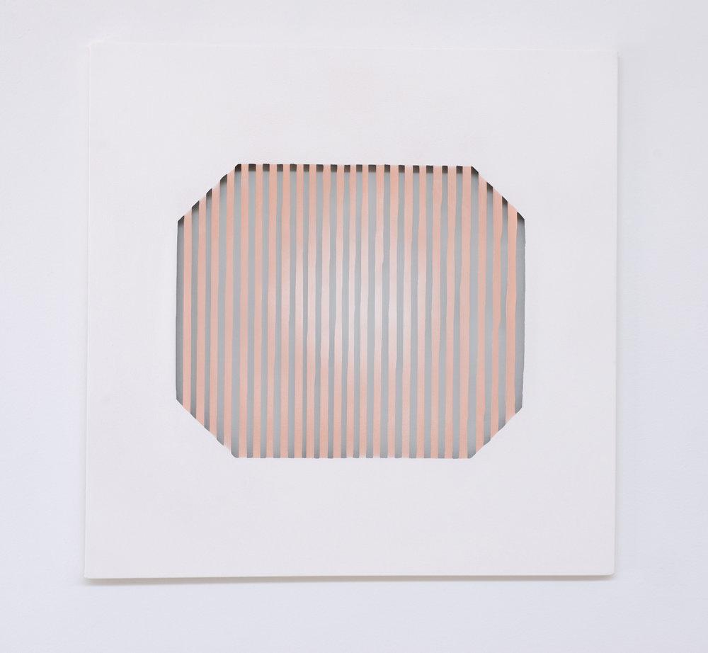 "Flash    spray paint on canvas  36"" x 36"" 2016"