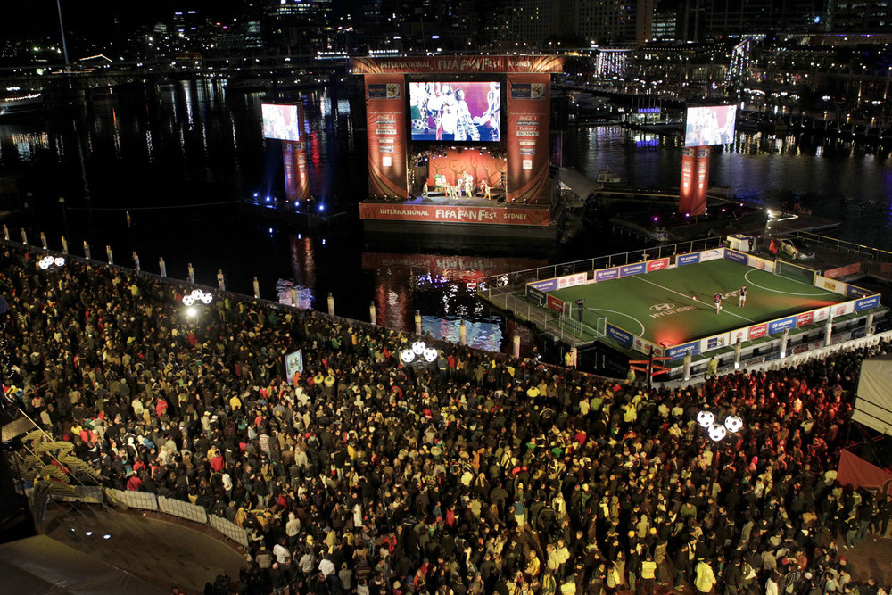 Sydney International FIFA FanFest