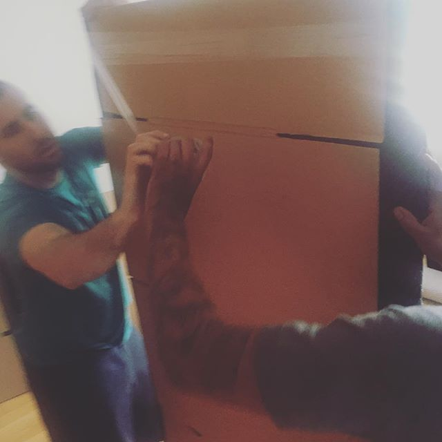 #MenAtWork #ThankYou @clutter Got #FINCHClothingCo Covered! Our Offices Are #Movin'... #WeWorkin' #LA #ShopFINCH 😁📦📦📦📦📦📦📦📦🎉