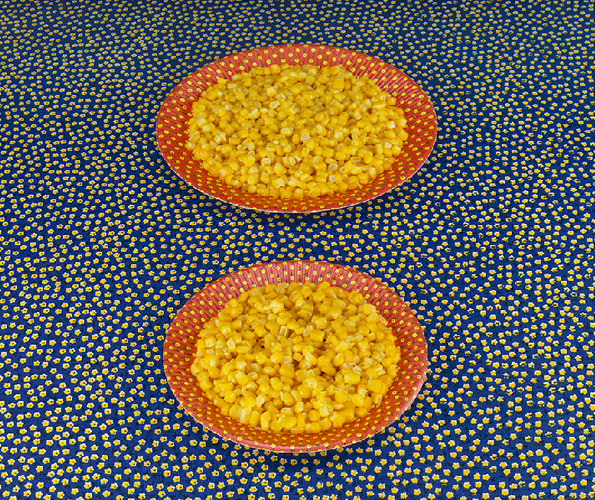 Two Plates of Corn, 1978