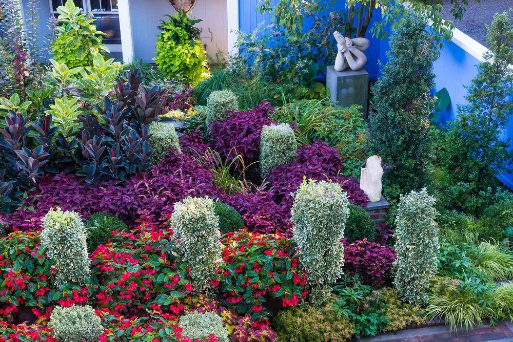The Hardie Garden in Nutley, New Jersey.