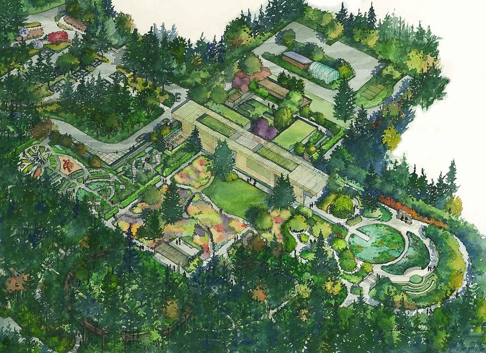 the best process leach botanical garden master plan for portland parks recreation garden - Garden Design Birds Eye View