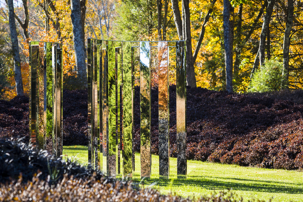 3-Semicircular Mirror Labyrinth, Jeppe Hein                                                                                               Photo by Claire Takacs
