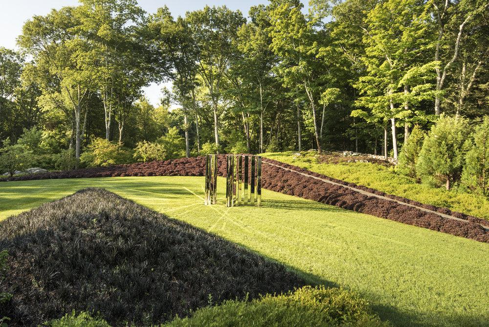 3-Semicircular Mirror Labyrinth,  Jeppe Hein