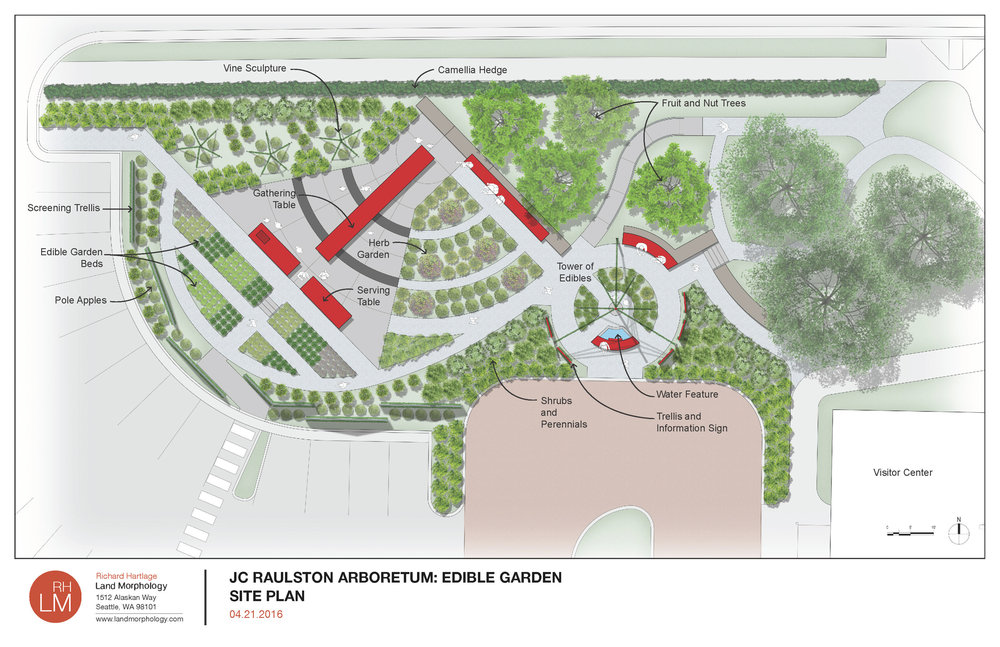 JC Raulston Edible Garden Plan