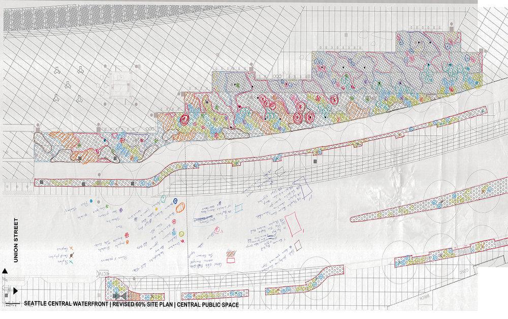 Waterfront Seattle  Planting Plan
