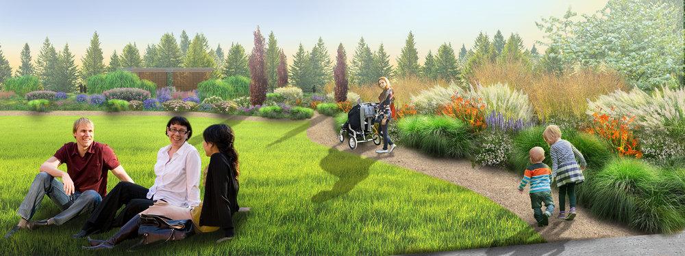 Leach Botanical Garden  - Pollinator Meadow