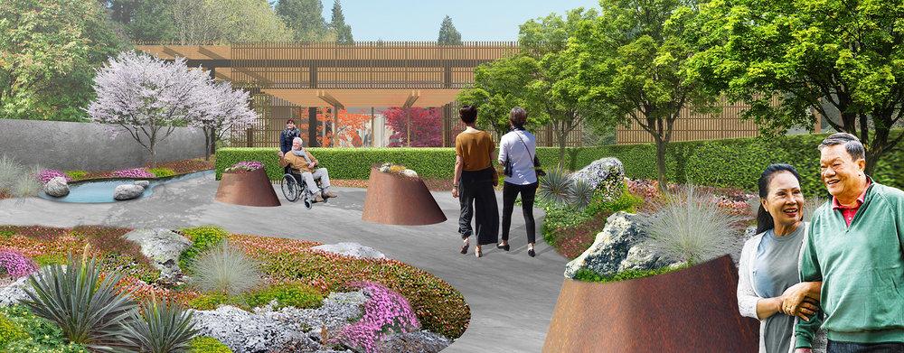 Leach Botanical Garden Alpine Garden