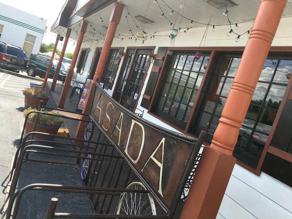 Bike racks for Greenville's thriving bike community!