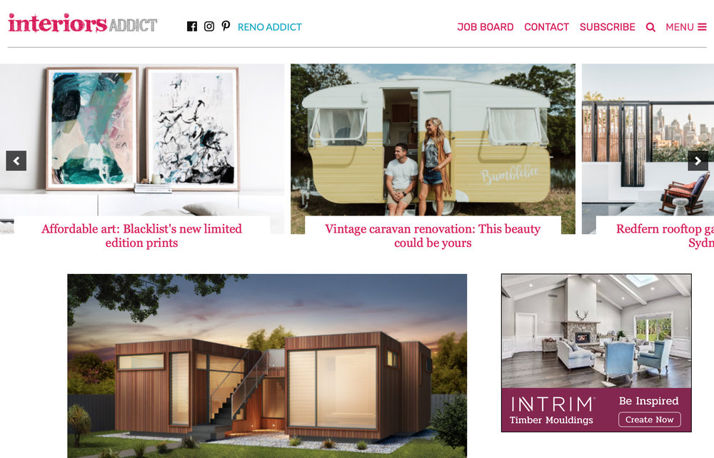 Check out my latest stories at Interiors Addict
