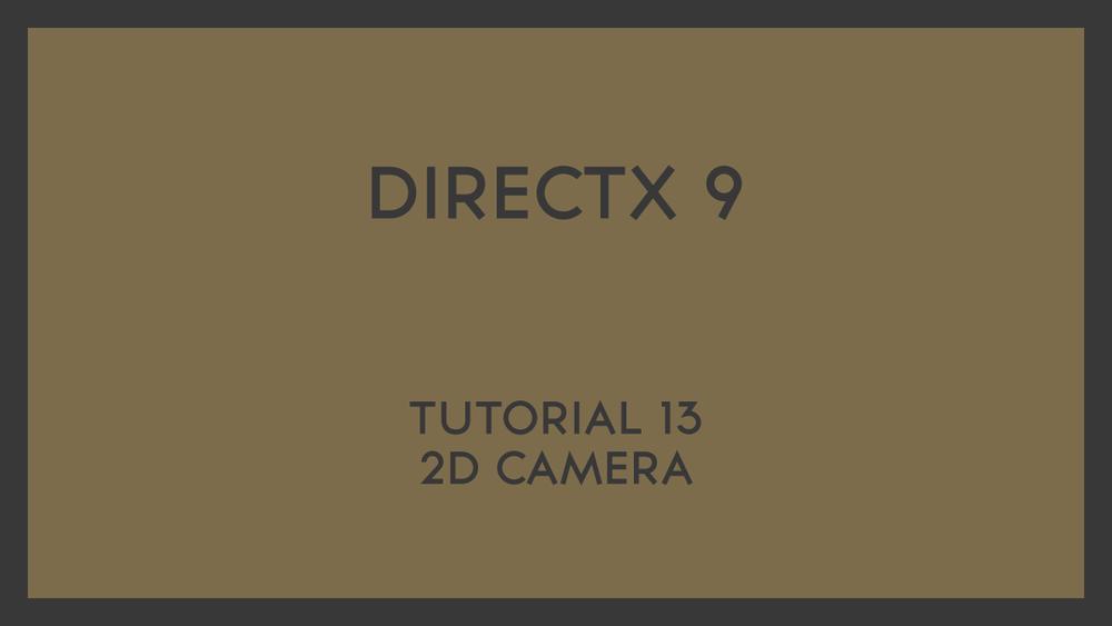 Direct X 9 Basics — PHStudios