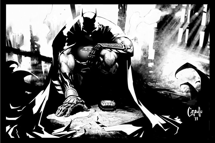 Greg Capullo, Batman (2011) image courtesy DC Comics/artist.