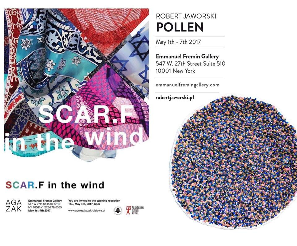 SCAR.F in the wind, an exhibit of contemporary paintings by artist Agnieszka Zak-Bielowa