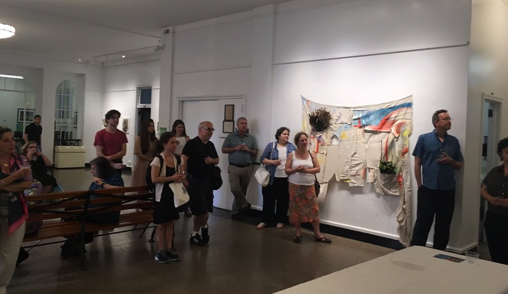 Closing Celebration tour of  Other Homes  at Arsenal Gallery, June 12, 2017