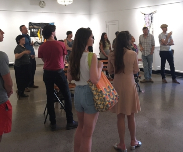 Closing Celebration Exhibition Tour,  Other Homes  at Arsenal Gallery, June 12, 2017 feat. presentations by Parks Dept Elizabeth Masella, Curator Audra Lambert, and artists Katya Grokhovsky, Jon Bunge, Rachel Hornaday and Marina Andrijcic-Ojeda (with artist Nyugen Smith away on residency)
