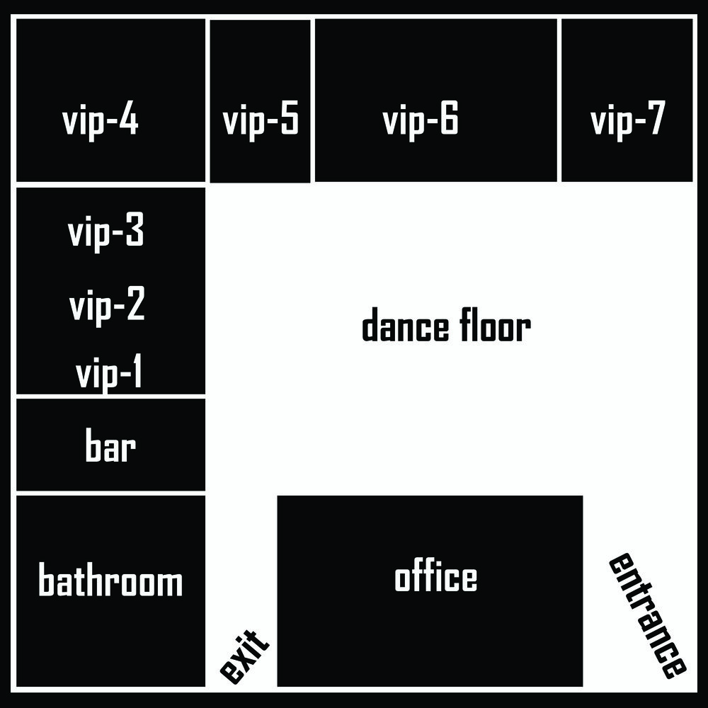VIP Seating Area Reservations Information Area Arangment & Treatment For Groups